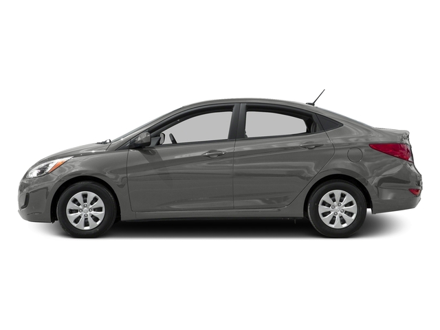 Ironman Silver Metallic 2016 Hyundai Accent Pictures Accent Sedan 4D SE I4 photos side view