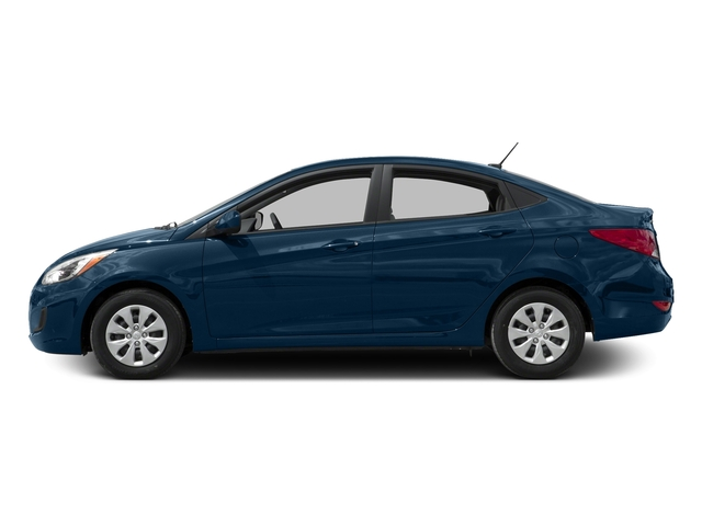 Pacific Blue Pearl 2016 Hyundai Accent Pictures Accent Sedan 4D SE I4 photos side view