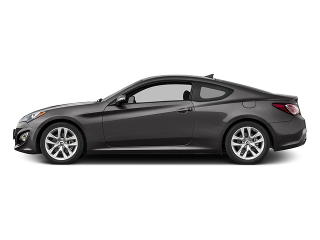 Empire St Gray Metallic 2016 Hyundai Genesis Coupe Pictures Genesis Coupe 2D Ultimate V6 photos side view