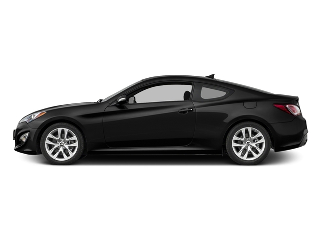 Caspian Black Pearl 2016 Hyundai Genesis Coupe Pictures Genesis Coupe 2D Ultimate V6 photos side view