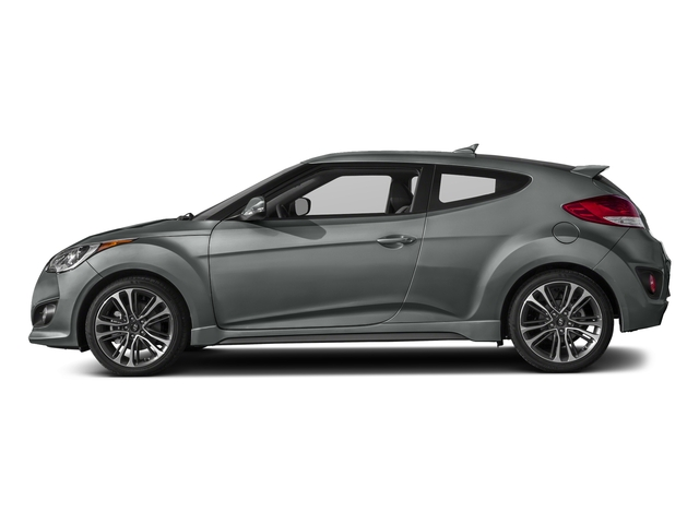 Matte Gray 2016 Hyundai Veloster Pictures Veloster Coupe 3D I4 Turbo photos side view