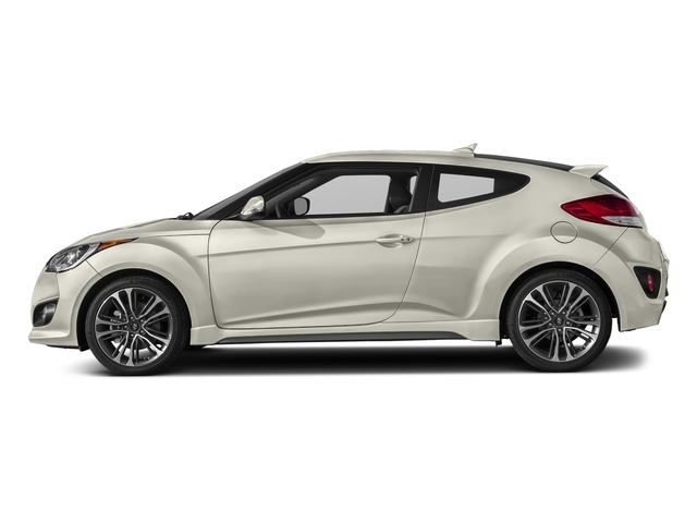 Elite White 2016 Hyundai Veloster Pictures Veloster Coupe 3D I4 Turbo photos side view