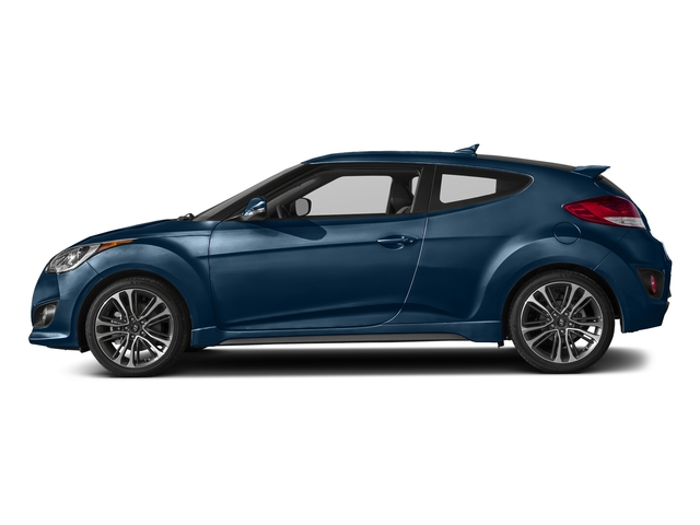 Pacific Blue 2016 Hyundai Veloster Pictures Veloster Coupe 3D I4 Turbo photos side view