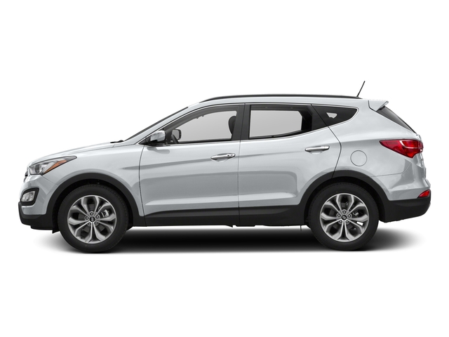Frost White Pearl 2016 Hyundai Santa Fe Sport Pictures Santa Fe Sport Utility 4D Sport 2.0T AWD photos side view