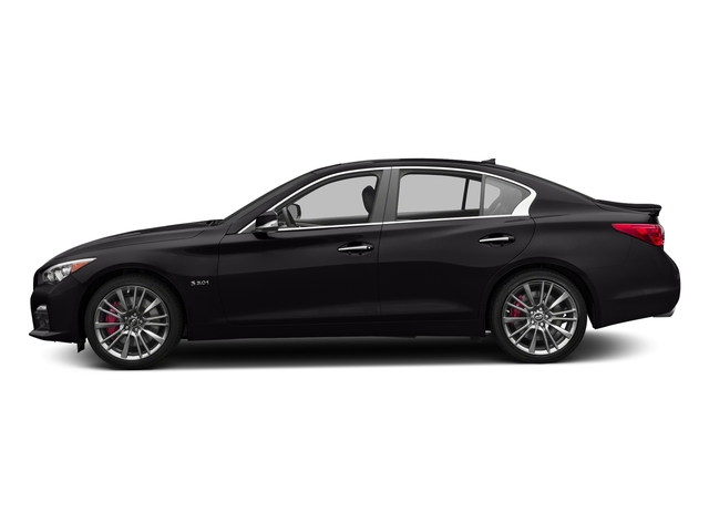 Malbec Black 2016 INFINITI Q50 Pictures Q50 Sedan 4D 3.0T Red Sport AWD V6 Turbo photos side view