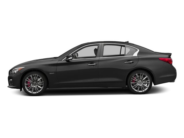 Graphite Shadow 2016 INFINITI Q50 Pictures Q50 Sedan 4D 3.0T Red Sport AWD V6 Turbo photos side view