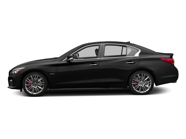 Black Obsidian 2016 INFINITI Q50 Pictures Q50 Sedan 4D 3.0T Red Sport AWD V6 Turbo photos side view