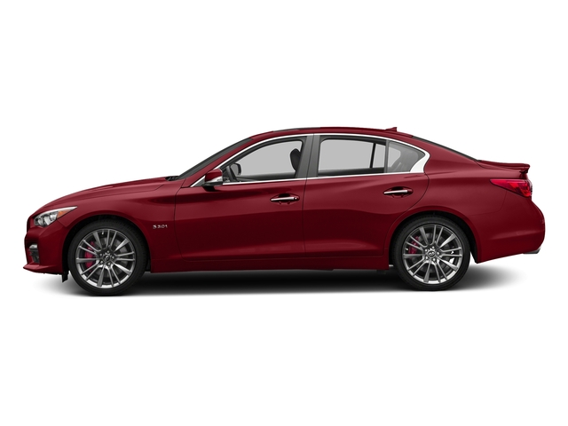 Venetian Ruby 2016 INFINITI Q50 Pictures Q50 Sedan 4D 3.0T Red Sport AWD V6 Turbo photos side view