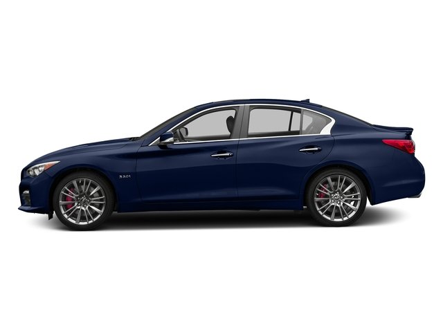 Iridium Blue 2016 INFINITI Q50 Pictures Q50 Sedan 4D 3.0T Red Sport AWD V6 Turbo photos side view
