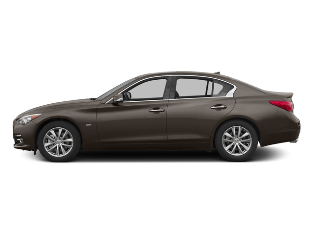 Chestnut Bronze 2016 INFINITI Q50 Pictures Q50 Sedan 4D 2.0T Premium I4 Turbo photos side view