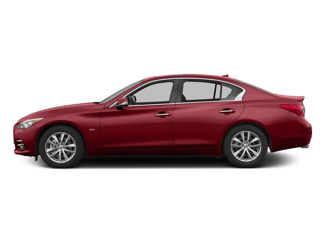 Venetian Ruby 2016 INFINITI Q50 Pictures Q50 Sedan 4D 2.0T Premium I4 Turbo photos side view
