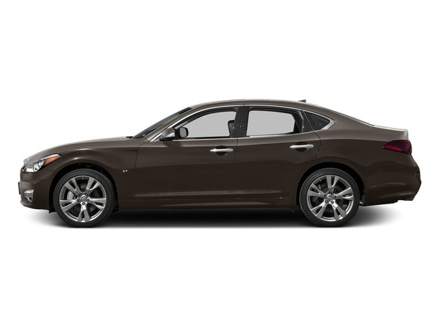 Chestnut Bronze 2016 INFINITI Q70 Pictures Q70 Sedan 4D V8 photos side view