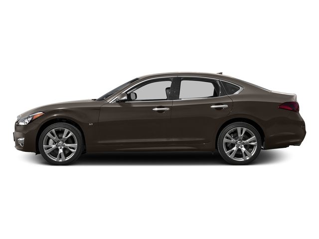 Chestnut Bronze 2016 INFINITI Q70 Pictures Q70 Sedan 4D V6 photos side view