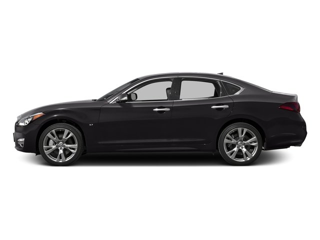 Malbec Black 2016 INFINITI Q70 Pictures Q70 Sedan 4D V8 photos side view