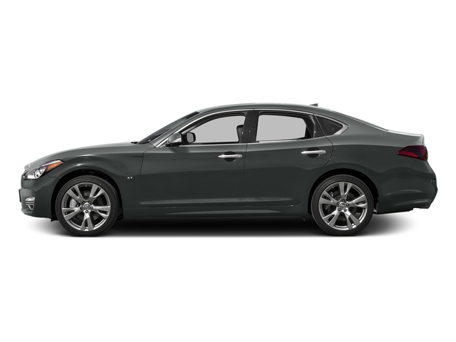 Graphite Shadow 2016 INFINITI Q70 Pictures Q70 Sedan 4D V8 photos side view