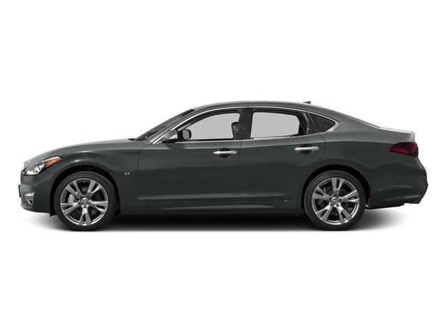 Graphite Shadow 2016 INFINITI Q70 Pictures Q70 Sedan 4D AWD V6 photos side view