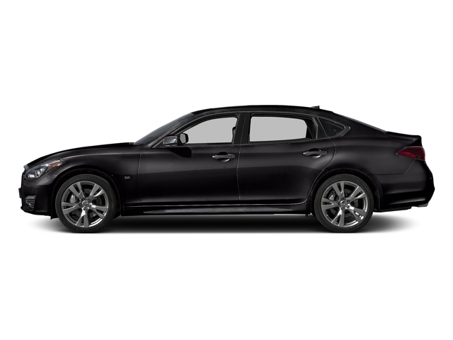 Malbec Black 2016 INFINITI Q70L Pictures Q70L Sedan 4D LWB V6 photos side view