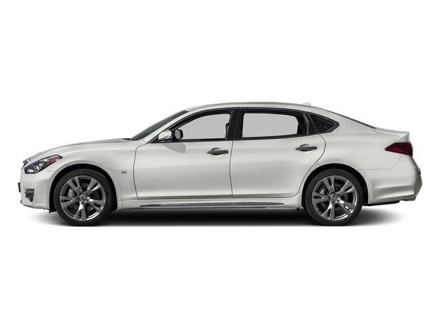 Majestic White 2016 INFINITI Q70L Pictures Q70L Sedan 4D LWB V6 photos side view