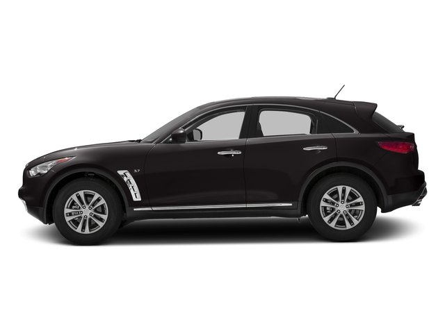 Midnight Mocha 2016 INFINITI QX70 Pictures QX70 Utility 4D 2WD V6 photos side view