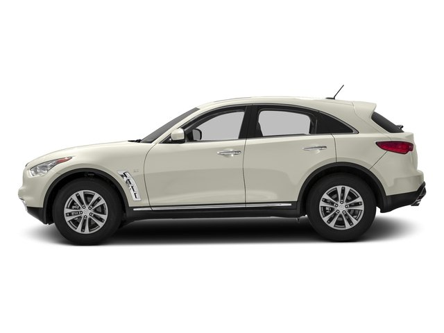Moonlight White 2016 INFINITI QX70 Pictures QX70 Utility 4D AWD V6 photos side view