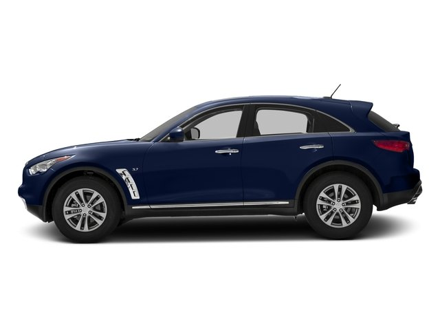 Iridium Blue 2016 INFINITI QX70 Pictures QX70 Utility 4D 2WD V6 photos side view