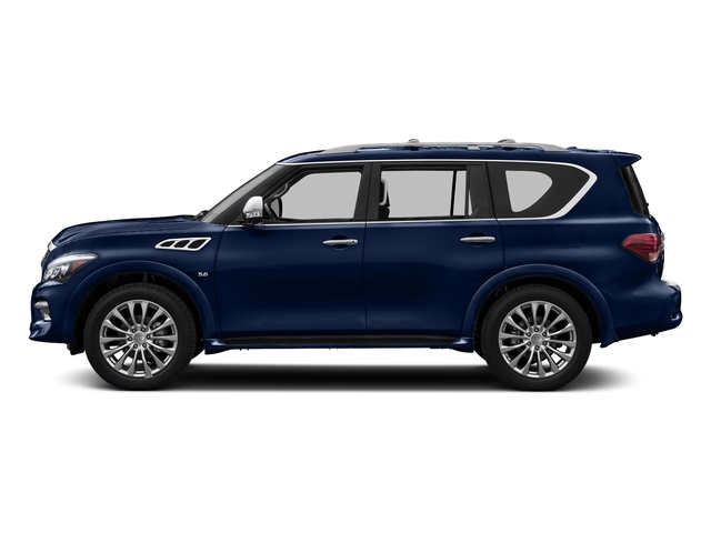 Hermosa Blue 2016 INFINITI QX80 Pictures QX80 Utility 4D AWD V8 photos side view