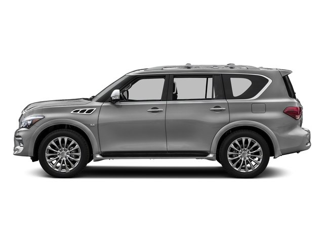 Liquid Platinum 2016 INFINITI QX80 Pictures QX80 Utility 4D AWD V8 photos side view