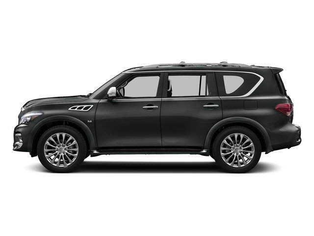 Graphite Shadow 2016 INFINITI QX80 Pictures QX80 Utility 4D AWD V8 photos side view