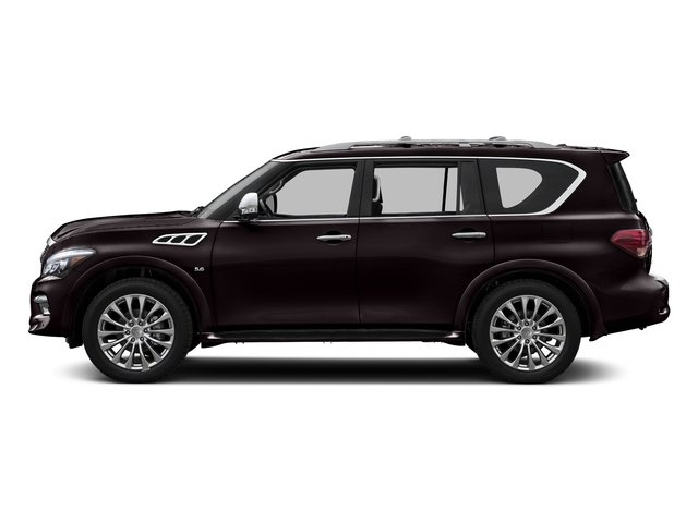 Dark Currant 2016 INFINITI QX80 Pictures QX80 Utility 4D AWD V8 photos side view