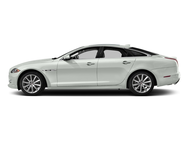 Polaris White 2016 Jaguar XJ Pictures XJ Sedan 4D V8 Supercharged photos side view