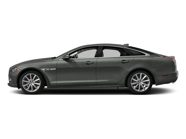 Ammonite Gray Metallic 2016 Jaguar XJ Pictures XJ Sedan 4D V8 Supercharged photos side view