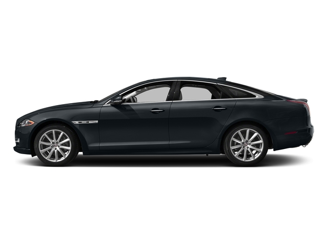 Celestial Black 2016 Jaguar XJ Pictures XJ Sedan 4D V8 Supercharged photos side view