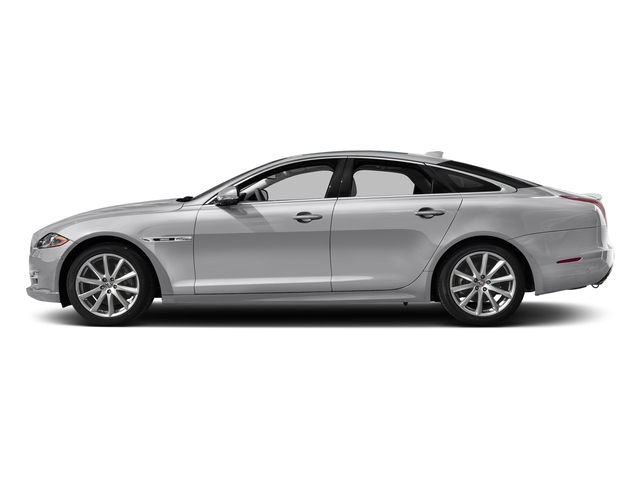 Glacier White Metallic 2016 Jaguar XJ Pictures XJ Sedan 4D V8 Supercharged photos side view