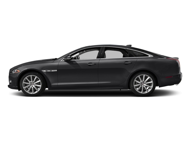 Ebony 2016 Jaguar XJ Pictures XJ Sedan 4D V8 Supercharged photos side view