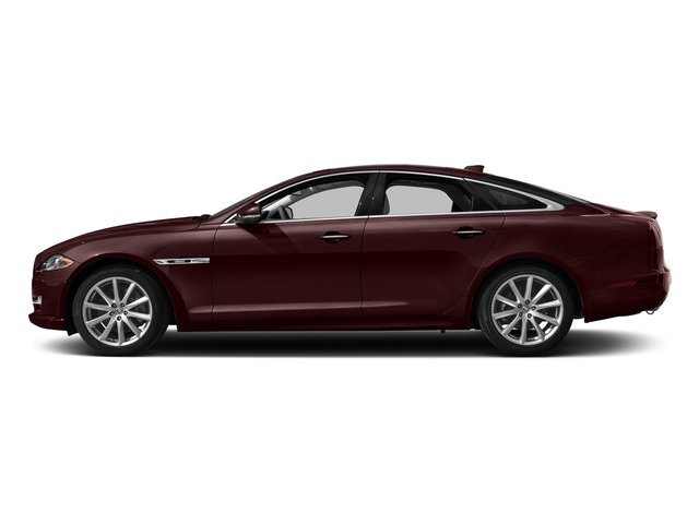 Aurora Red Metallic 2016 Jaguar XJ Pictures XJ Sedan 4D V8 Supercharged photos side view