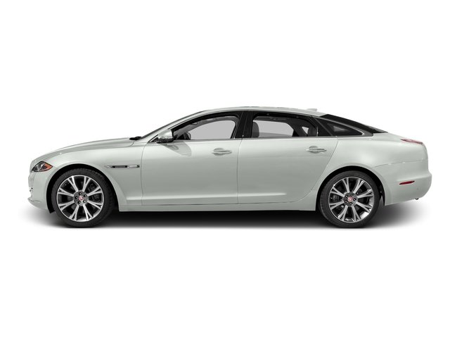 Polaris White 2016 Jaguar XJ Pictures XJ Sedan 4D L Portfolio AWD V6 Sprchrd photos side view