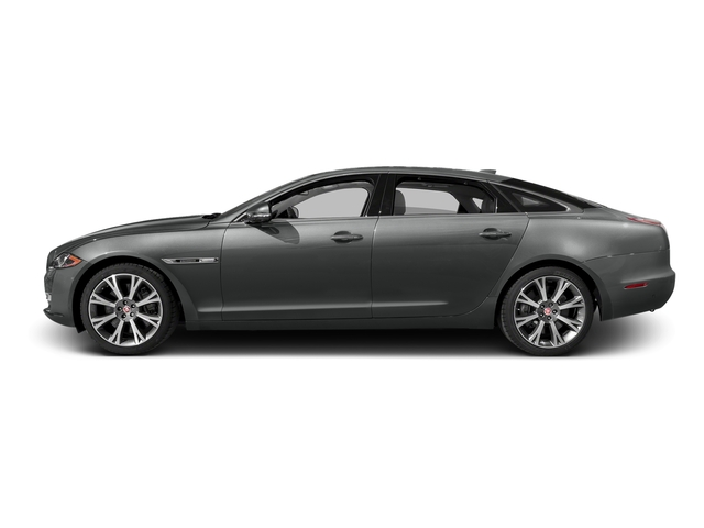 Ammonite Gray Metallic 2016 Jaguar XJ Pictures XJ Sedan 4D L Portfolio AWD V6 Sprchrd photos side view