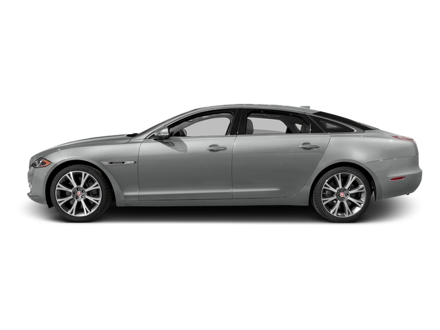 Rhodium Silver Metallic 2016 Jaguar XJ Pictures XJ Sedan 4D L Portfolio AWD V6 Sprchrd photos side view