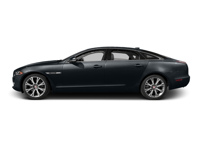 Celestial Black 2016 Jaguar XJ Pictures XJ Sedan 4D L Portfolio AWD V6 Sprchrd photos side view