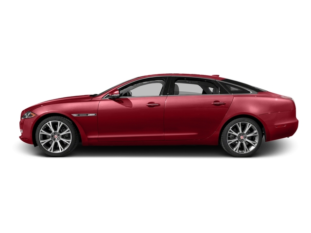 Italian Racing Red Metallic 2016 Jaguar XJ Pictures XJ Sedan 4D L Portfolio AWD V6 Sprchrd photos side view