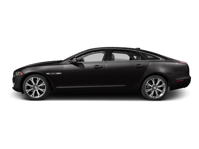 Ultimate Black Metallic 2016 Jaguar XJ Pictures XJ Sedan 4D L Portfolio AWD V6 Sprchrd photos side view