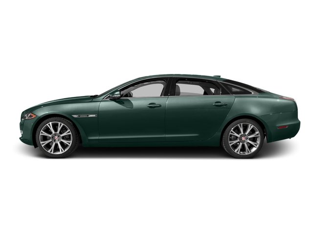 British Racing Green Metallic 2016 Jaguar XJ Pictures XJ Sedan 4D L Portfolio AWD V6 Sprchrd photos side view