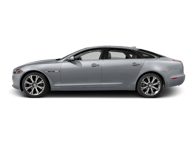 Glacier White Metallic 2016 Jaguar XJ Pictures XJ Sedan 4D L Portfolio AWD V6 Sprchrd photos side view