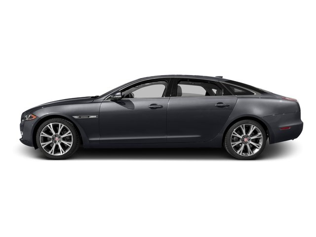 Tempest Gray 2016 Jaguar XJ Pictures XJ Sedan 4D L Portfolio AWD V6 Sprchrd photos side view
