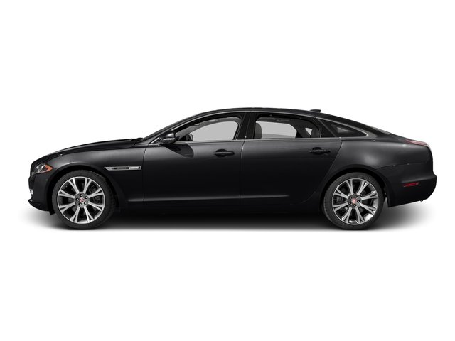 Ebony 2016 Jaguar XJ Pictures XJ Sedan 4D L Portfolio AWD V6 Sprchrd photos side view
