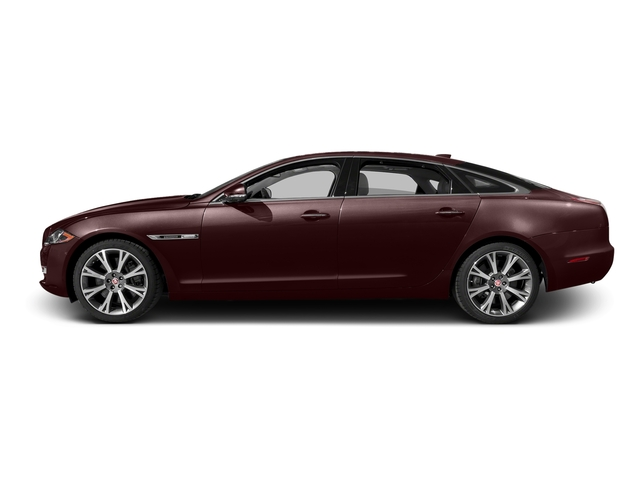 Aurora Red Metallic 2016 Jaguar XJ Pictures XJ Sedan 4D L Portfolio AWD V6 Sprchrd photos side view