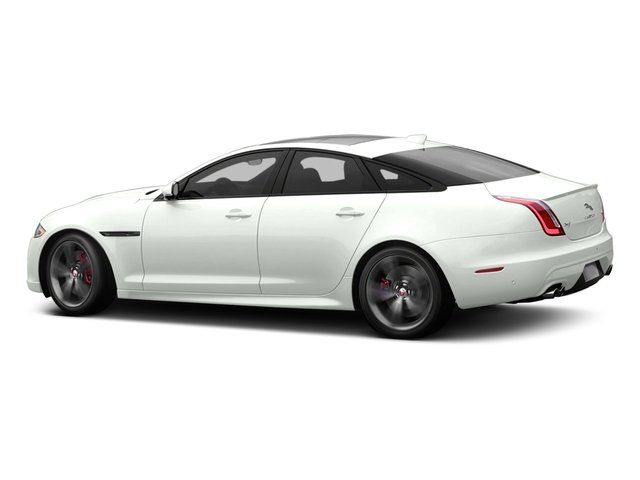 Polaris White 2016 Jaguar XJ Pictures XJ Sedan 4D XJR V8 Supercharged photos side view
