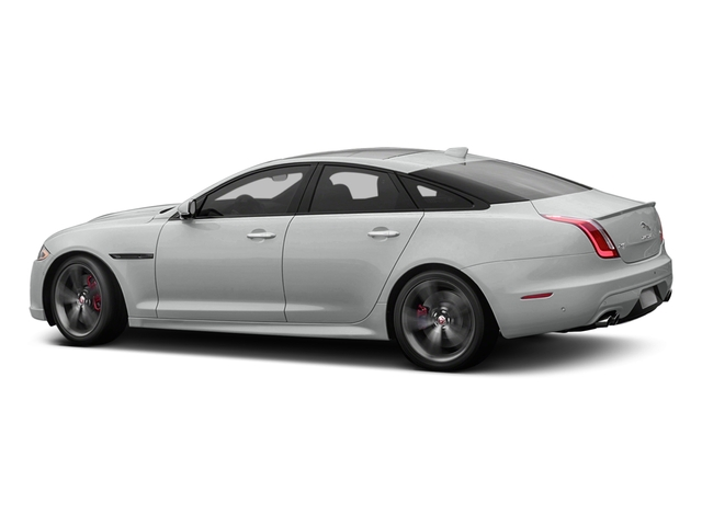 Rhodium Silver Metallic 2016 Jaguar XJ Pictures XJ Sedan 4D XJR V8 Supercharged photos side view