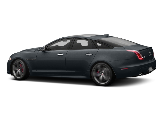 Celestial Black 2016 Jaguar XJ Pictures XJ Sedan 4D XJR V8 Supercharged photos side view