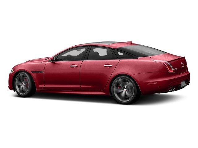 Italian Racing Red Metallic 2016 Jaguar XJ Pictures XJ Sedan 4D L XJR V8 Supercharged photos side view